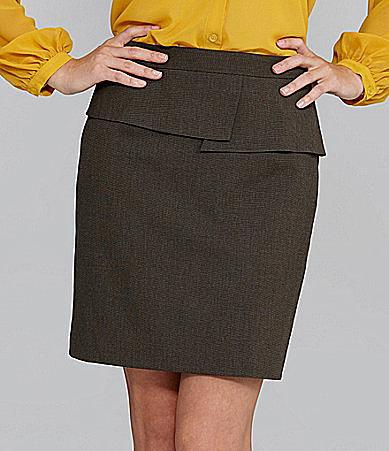 Gianni Bini Teresa Peplum Skirt