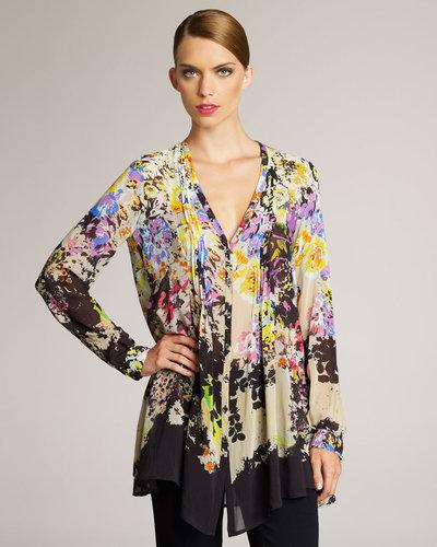 Etro Floral-Print Blouse