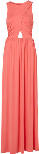 Wrap Jersey Maxi Dress