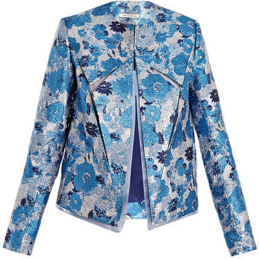 Christopher Kane Splice and fold jacket