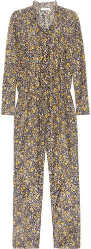 Étoile Isabel Marant Jane floral-print cotton and silk-blend jumpsuit