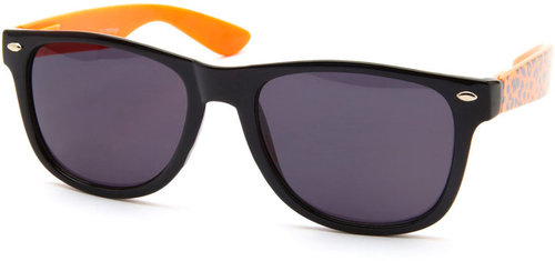 Neon Leopard Sunglasses
