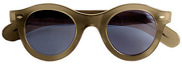 Cutler and Gross round sunglasses
