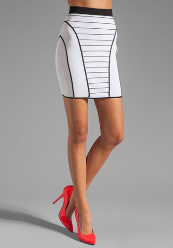 Milly January Knits Camille Pencil Skirt