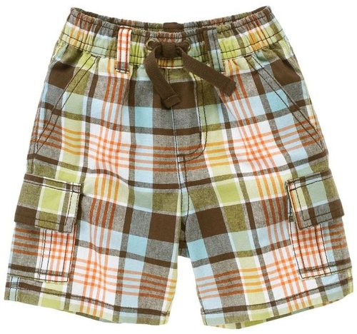 Plaid Cargo Short