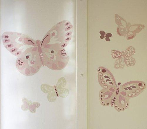 Camille Butterflies Decal Set