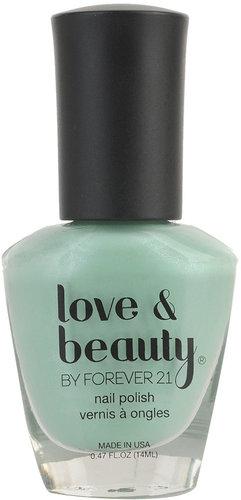 Love 21 Fresh Mint Nail Polish
