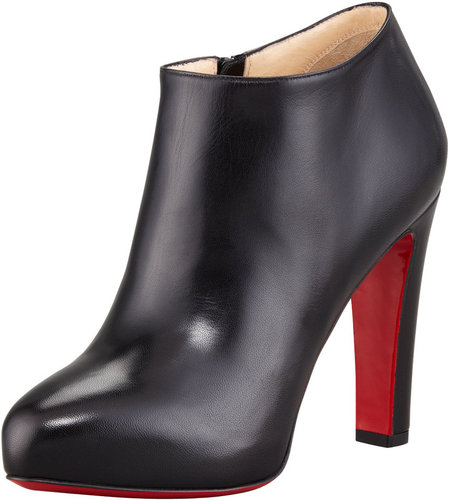 Christian Louboutin Vicky Napa Ankle Bootie