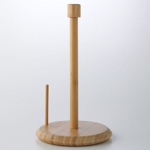 Food network™ bamboo paper towel holder