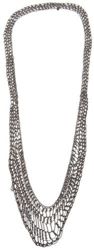 Arielle De Pinto Lattice collar necklace
