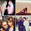 Celebrity Instagram: Miranda Kerr Cara Delevingne Rihanna