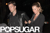 Gisele Bündchen and Tom Brady went to a party.