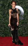 Nicole Richie attended QVC's Red Carpet Style event at the Beverly Hills Four Seasons Hotel.