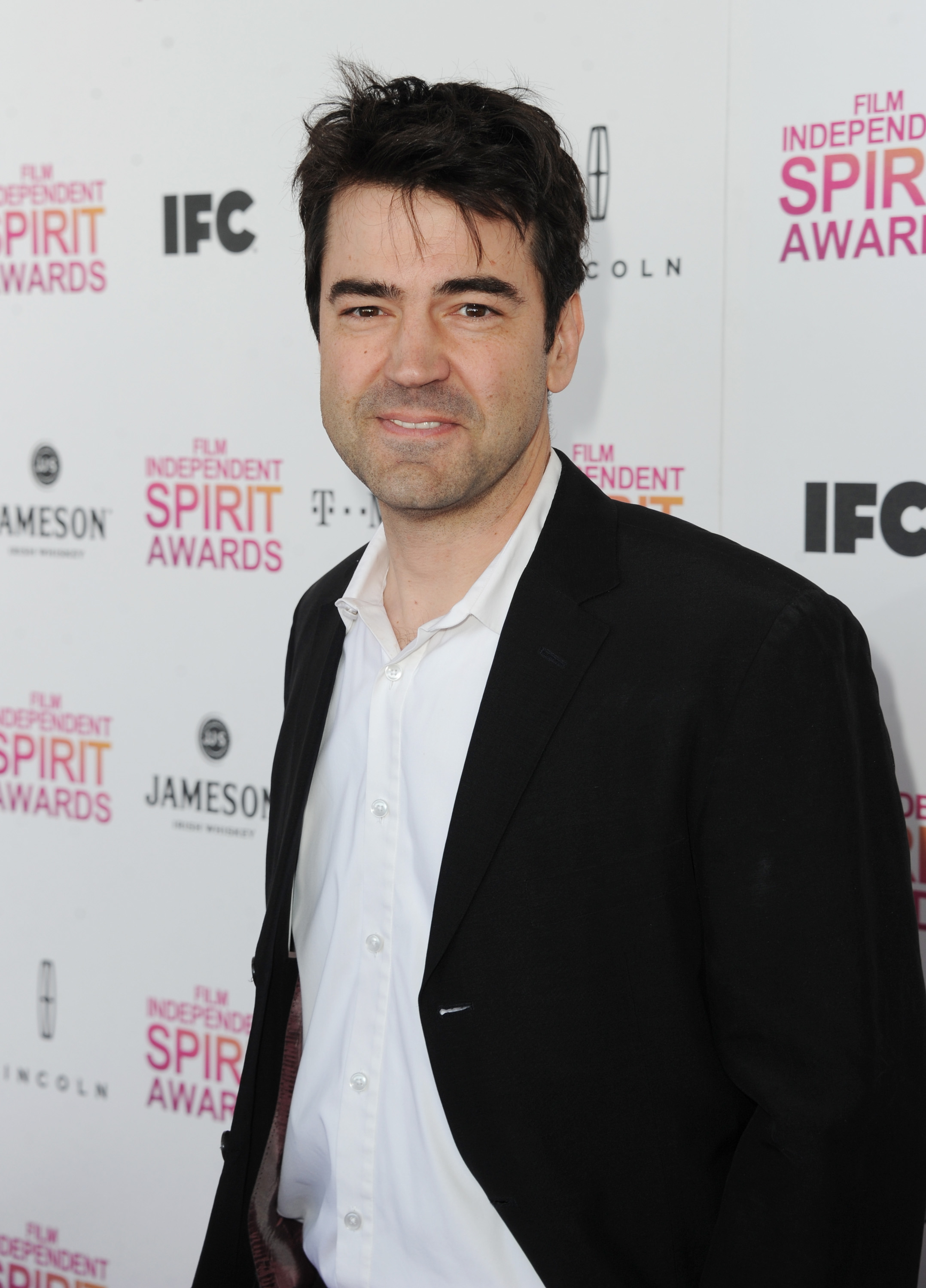 Ron Livingston on the red carpet at the Spirit Awards 2013.