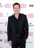 Jason Issacs on the red carpet at the Spirit Awards 2013.