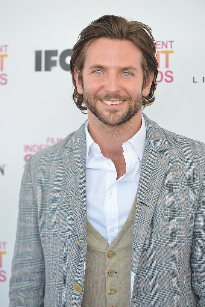 Bradley Cooper wore a three-piece suit.