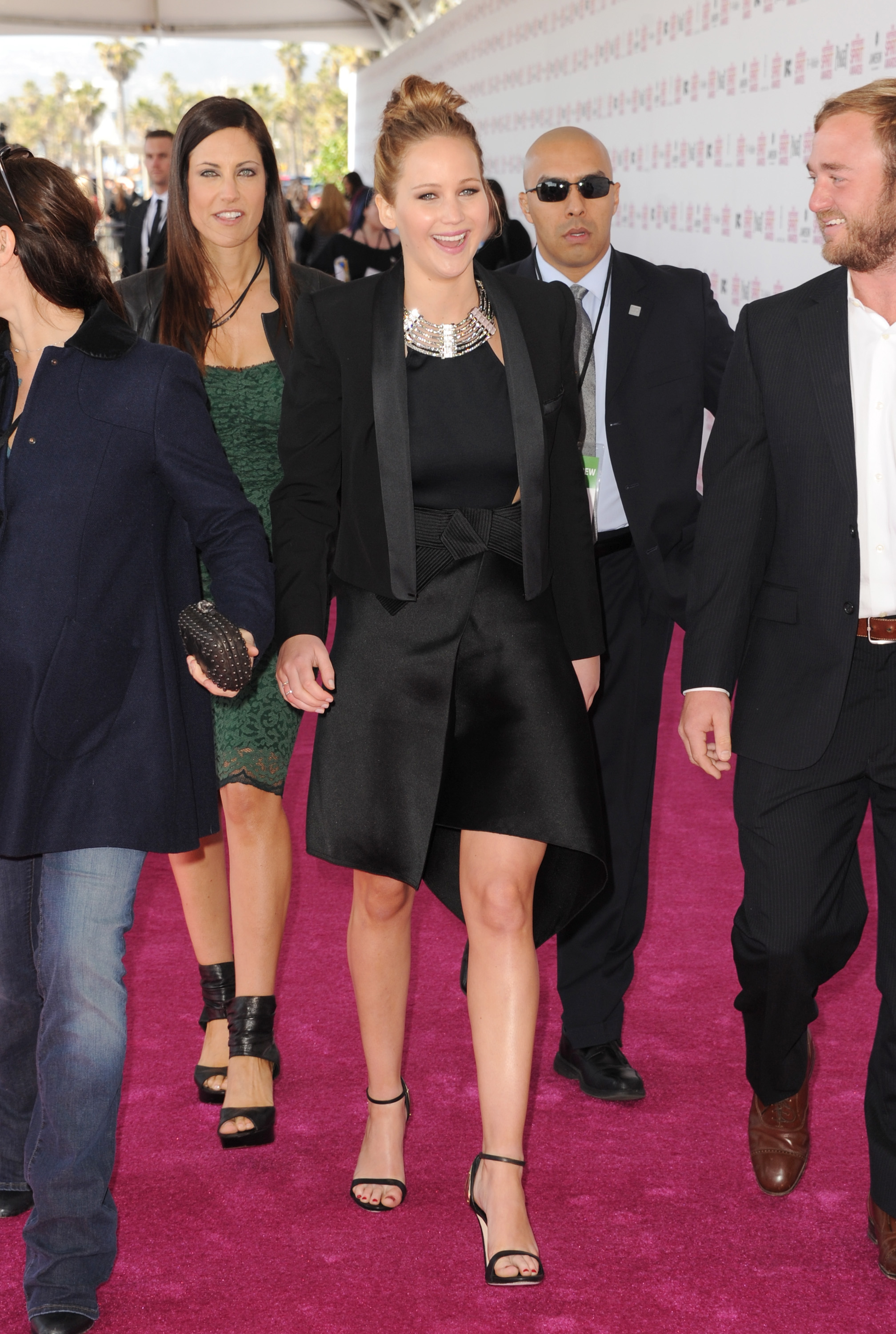 Jennifer Lawrence on the red carpet at