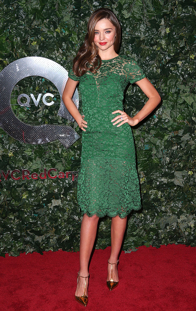Miranda, Nicole, and More Celebrate QVC's Red Carpet Style