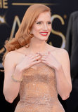 Jessica Chastain's Nails