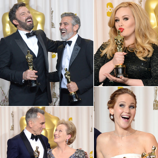 See the Cutest Pictures From the Oscars Press Room