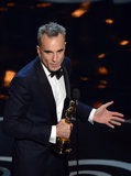 Daniel Day-Lewis's Comic Acceptance Speech