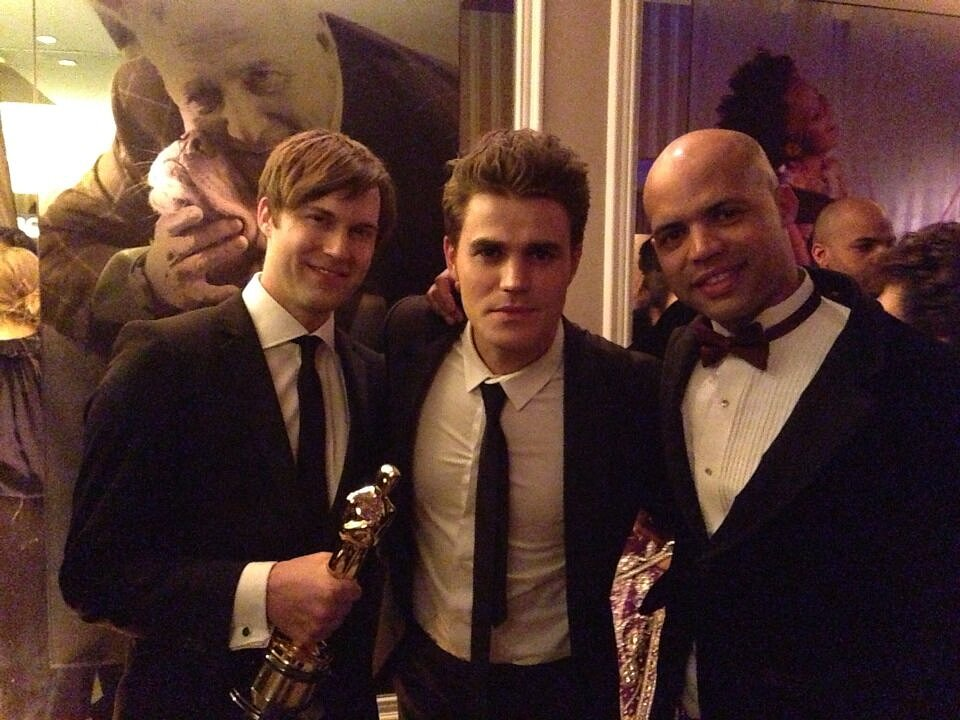 Paul Wesley gave a shoutout to filmmaker Shawn Christensen for winning best live-action short film for Curfew. Source: Twitter user paulwesley