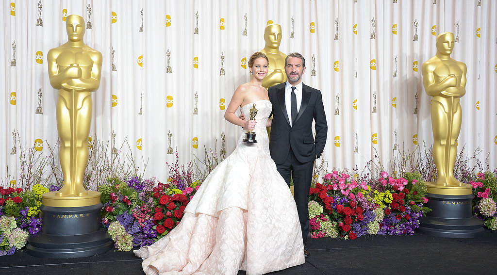 Jennifer Lawrence won the Oscar for best actress in Silver Linings Playbook.