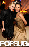 Catherine Zeta-Jones and Ashley Olsen posed together at the Vanity Fair Oscar after-party.