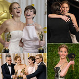 Jennifer Lawrence Celebrates Her Best Actress Oscars Win