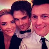 Jamie King hung out with Ian Somerhalder at an Oscars party. Source: Instagram user jamie_king