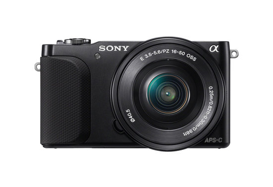 The Sony NEX-3N will be available in black and white.
