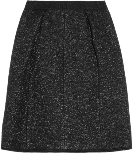 Marc Jacobs Metallic boucl wool-blend skirt
