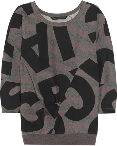 Marc by Marc Jacobs Printed cotton-jersey sweatshirt