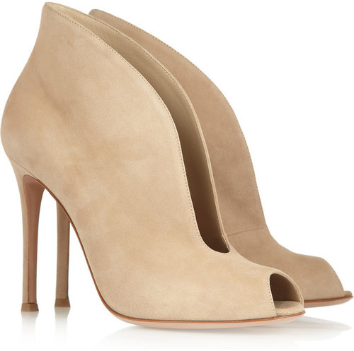 Gianvito Rossi Camcord suede ankle boots