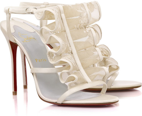 Christian Louboutin Fortitia 100mm sandals