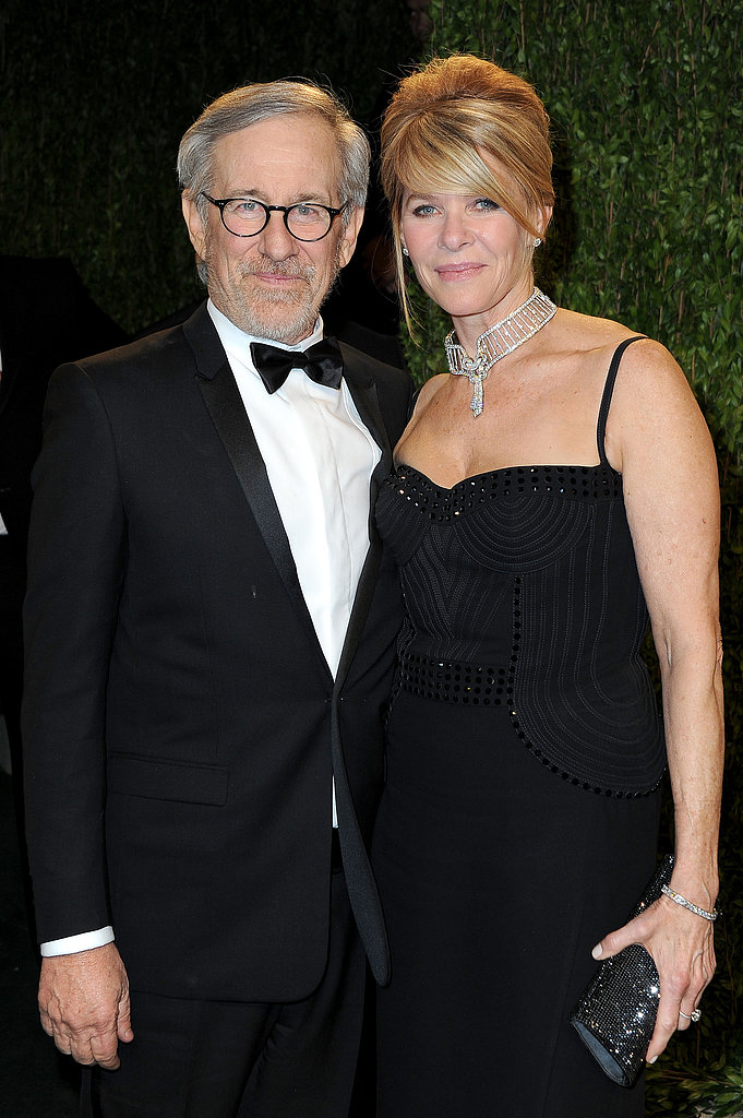 Stephen Spielberg and Kate Capshaw