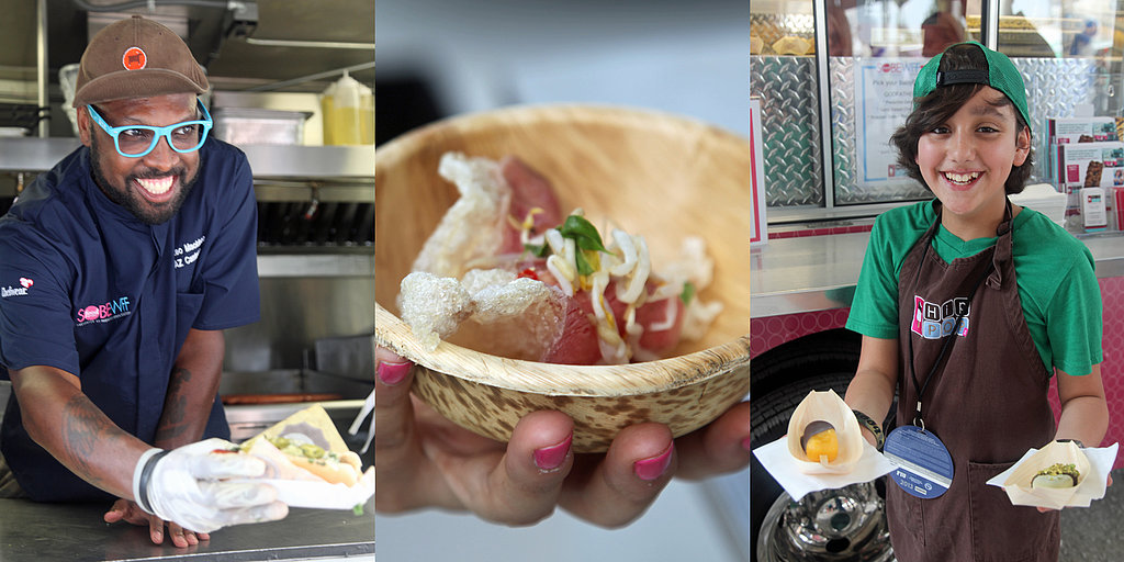 Feast Your Eyes on Everything at Andrew Zimmern's Food Truck Event