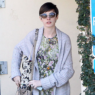 Anne Hathaway Steps Out in LA Post-Oscar Win | Pictures