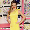 Miranda Kerr Wearing Yellow Dress