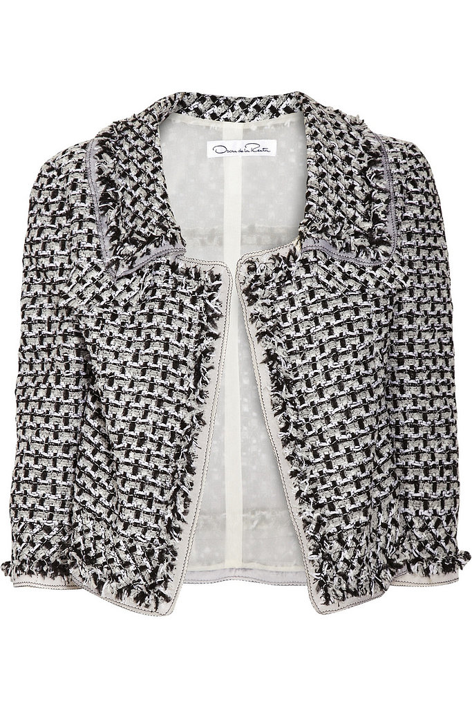 Oscar de la Renta for The Outnet bouclé tweed jacket