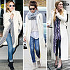 Trendy White Coats for Winter 2013