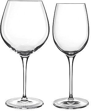 Luigi Bormioli Glassware, Set of 8 Crescendo Wine Glasses