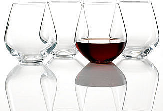 "Lenox ""Tuscany Classics"" Stemless Red, Set of 4"