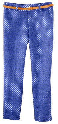 Merona Women&#039;s Tailored Ankle Pant w/Belt (Fit 2) - Amparo Blue
