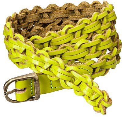 Mossimo Braided Belt - Green