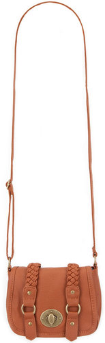 Two Braid Crossbody Bag