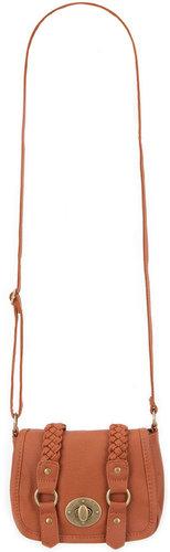 Two Braid Crossbody Bag