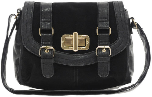 New Look Fergie Suedette Panel Cross Body