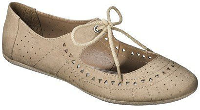 Women&#039;s Mossimo Supply Co. Layne Flats - Taupe