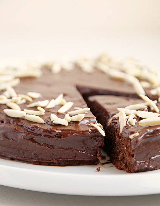 Adapted from Julia Child's Mastering the Art of French Cooking, this Reine de Saba — a chocolate almond cake recipe — features a rich, fudgy center.